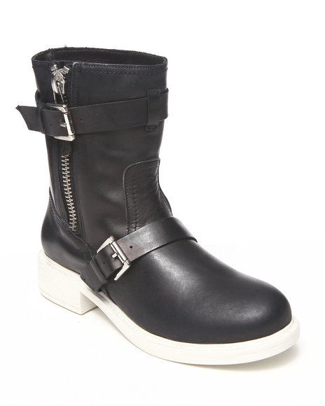 DJP OUTLET - Pour La Victoire Montero Leather Bootie