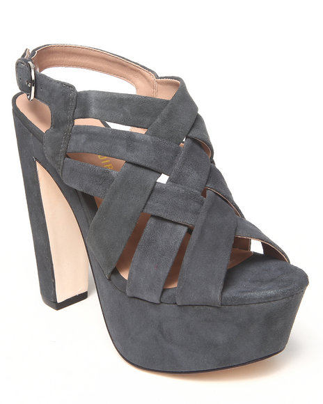 Djp Outlet - Women Grey Glenna Platform