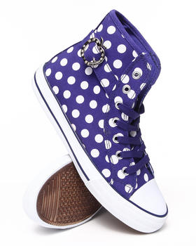 Apple Bottoms - Polka Canvas Sneaker