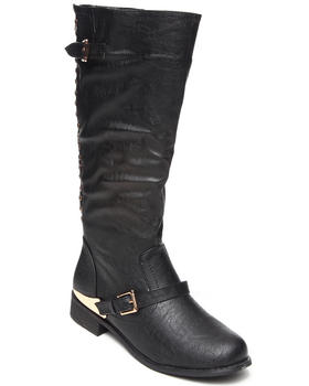 Fashion Lab - Pace Boot w/stud detail on back