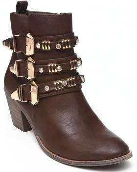 Fashion Lab - Tria Boot w/buckle detail