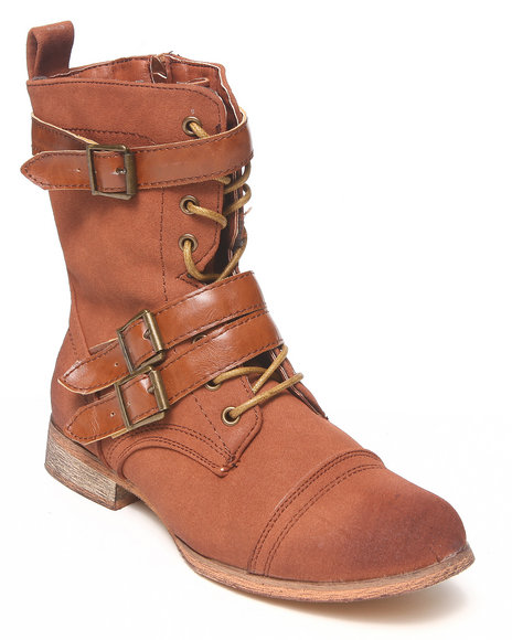 Fashion Lab - Women Brown Mesa Boot