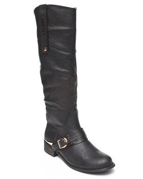 Fashion Lab - Pagani Riding Boot w/metal detail