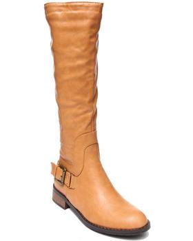 Fashion Lab - Heidi Tall Riding Boot w/ring detail