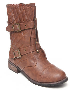 Fashion Lab - Parnell Quilted Military Boot
