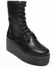 Boots - Nashira Platform bootie w/studs