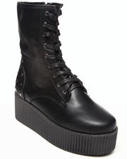 Women - Nashira Platform bootie w/studs
