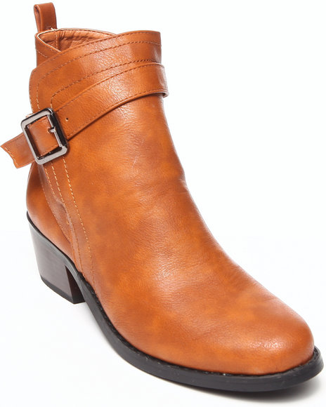 Fashion Lab - Women Brown Maxima Ankle Bootie