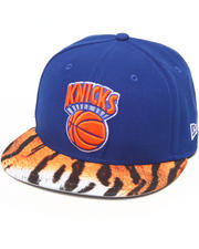 New Era - New York Knicks Visor Real Tiger 5950 fitted hat