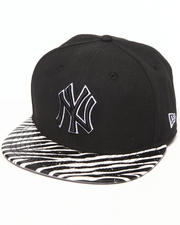 Men - New York Yankees Ostrich Vize Zebra Strapback Hat
