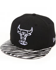 Men - Chicago Bulls Ostrich Vize Zebra Strapback Hat