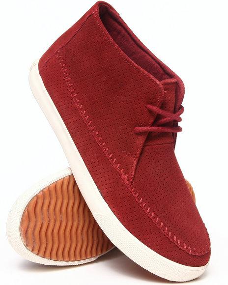 Buyers Picks - Men Maroon Generic Surplus Apache Suede Sneaker