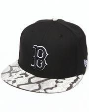 New Era - Boston Red Sox Snake-Thru Strapback Hat