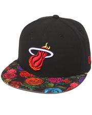 New Era - Miami Heat Real Floral 5950 fitted hat