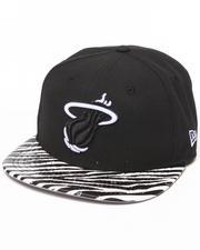 New Era - Miami Heat Ostrich Vize Zebra Strapback Hat