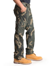 Men - Woodland Camo Cargo Pants
