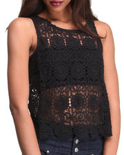 Tops - Lundy Scallop Lace Top