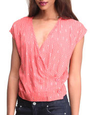 Women - Many Belles Down Florence Wrap Top