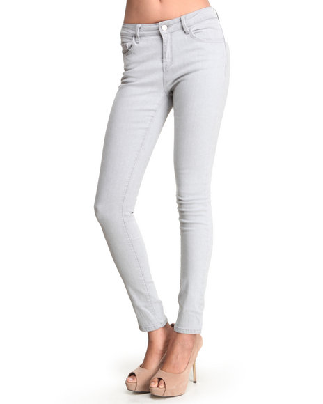 Djp Outlet - Women Grey Kacey Jean