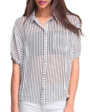 Tops - Birkin Striped Blouse
