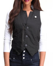 Women - Cavalry Leather Gilet by G-Star