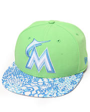New Era - Miami Marlins Ostrich Vize Snake 950 strapback hat