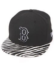 New Era - Boston Red Sox Ostrich Vize Zebra Strapback Hat