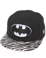 New Era - Batman Ostrich Vize Zebra Strapback Hat