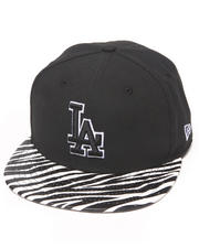 New Era - Los Angeles Dodgers Ostrich Vize Zebra Strapback Hat
