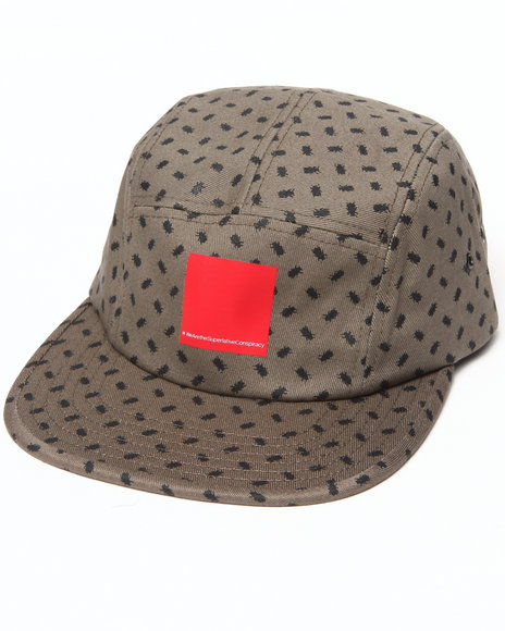 Wesc Men Beatle 5 Panel Hat Tan