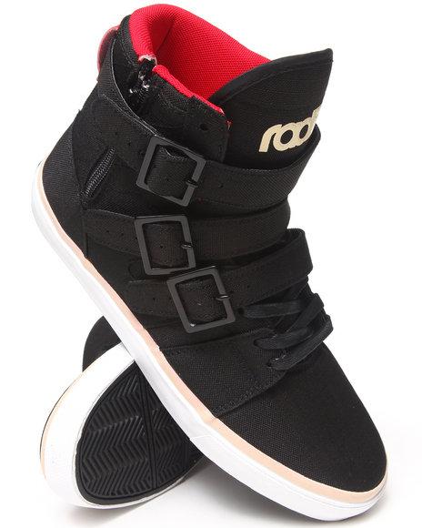 Radii Footwear Black Straight Jacket Ripstop Sneakers