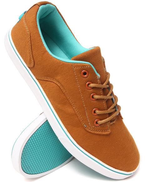 Radii Footwear - Men Tan,Teal Noble Low Sneakers