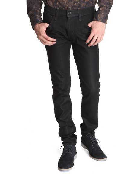 DJP OUTLET - Item! Super Skinny Waxed Graphite Jean