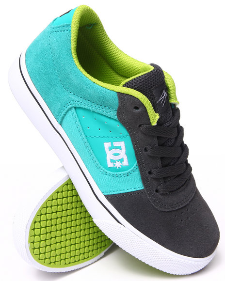 Dc Shoes - Boys Teal Cole Pro Sneakers (1-7) - $33.99