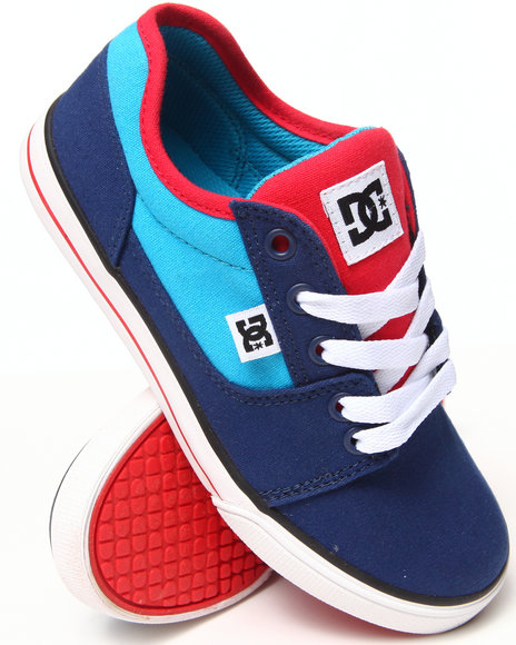 Dc Shoes - Boys Blue Bristol Canvas Sneakers (1-7)