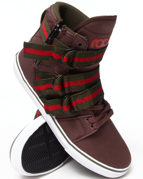Radii Footwear - Men Brown Straight Jacket Sneakers
