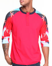 Long-Sleeve - Iron Eagle Raglan Henley