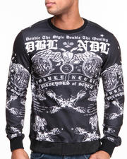 Double Needle - Anarchy Sublimated Crewneck Sweatshirt