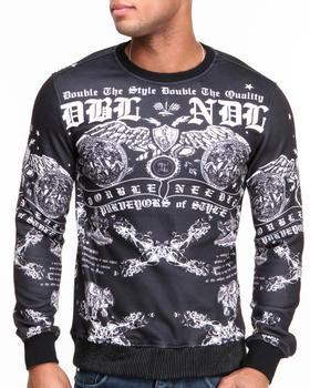 Double Needle - Anarchy Sublimated Crewneck Sweatshirt