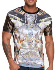 Double Needle - Gold Buddah Sublimated S/S Tee