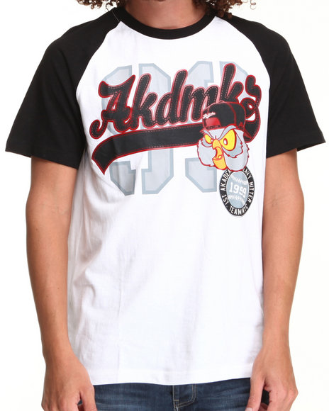 Akademiks - Men White Batboy Tee