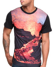 Mixed Media - Erupting Volcano Tee