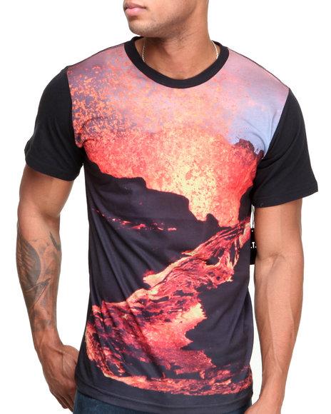 L.A.T.H.C. Multi Erupting Volcano Tee