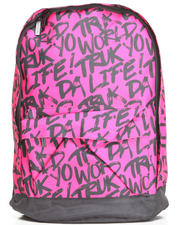 Accessories - Truk Yo Life Canvas Backpack