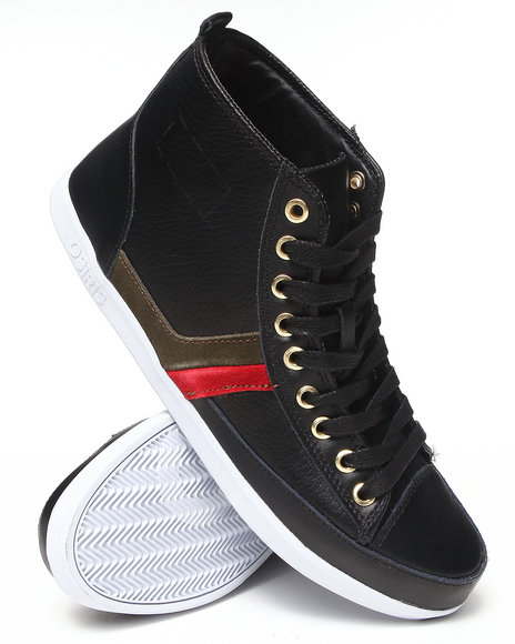 The Skate Shop Black,Green,Red Currency Sneakers