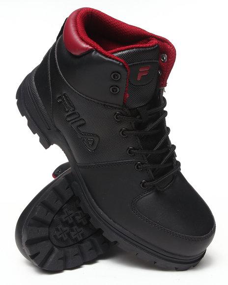 Fila Black,Red Ascender Boot