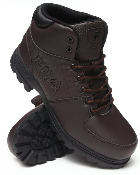 Fila - Men Brown Ascender Boot - $34.99
