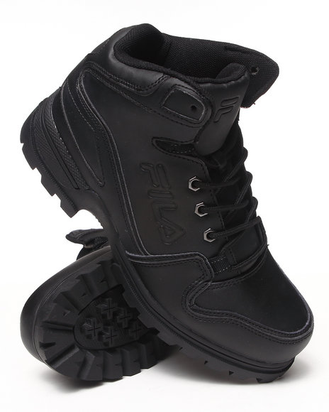 Fila - Men Black Resolute Wt Boot