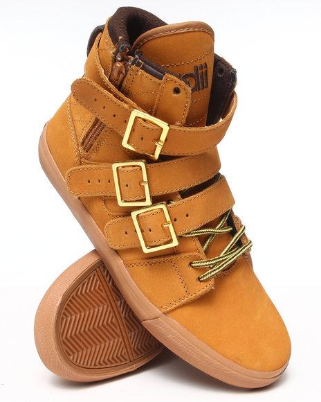 Radii Footwear - Men Tan Straight Jacket Vlc Sneakers