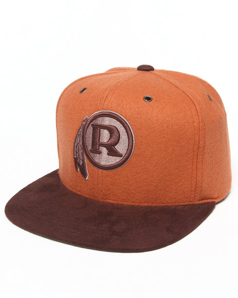 Mitchell & Ness Men Washington Redskins Nfl Throwbacks Brown Winter Orange - $29.99